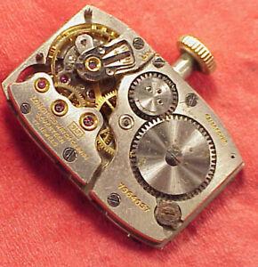 VINTAGE #4 Longines 9LT 25.17 ABC 17 jewels wristwatch movement