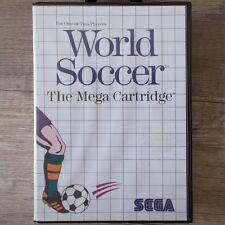 Sega Master System ► World Soccer ◄ komplett in OVP | TOP Zustand!