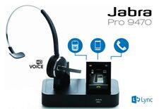 Jabra PRO 9470 Mono Bluetooth Noise-Canceling Touch Screen Wireless Headset New