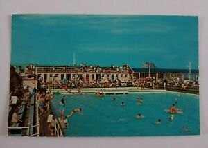 North Berwick Swimming Pool Vintage Scottish Postcard 1967