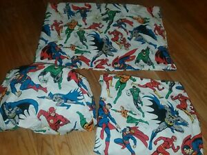 Pottery Barn Kids Marvel Hulk Captain America Iron Super Man  Sheet Set Twin 3pc