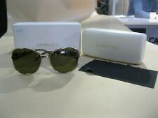 VERSACE SUNGLASSES MOD. 2137 (LEOPARD) MADE IN ITALY ~ GENUINE VERY GOOD COND