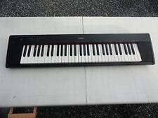 YAMAHA electronic keyboard piaggero Piajero Black NP-11