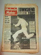 MELODY MAKER 1973 OCTOBER 20 THE WHO BOB DYLAN BILLY PAUL THE INTRUDERS