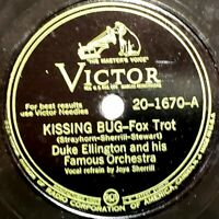 Duke Ellington Orch.: Kissing Bug / Mood To Be Wooed: Victor 1945 (Jazz)