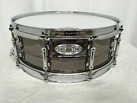 "Pearl SensiTone Beaded Brass 14"" Snare Drum/Model: STA1450BR/New Demo Model"