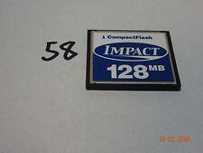 Lexar Impact 128 MB compact flash cf 128mb free postage