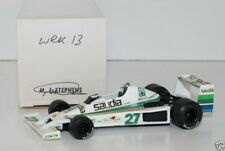WESTERN MODELS SIGNED 1st VERSION - 1/43 SCALE WRK13 SAUDIA WILLIAMS FW06 JONES