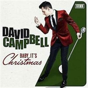 DAVID CAMPBELL Baby It's Christmas CD BRAND NEW