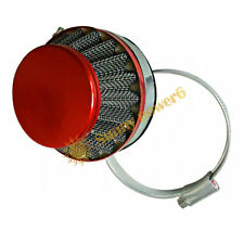 60mm Carburetor Air Filter Cleaner For 49/60/80cc Motor Motorized Bicycle RED