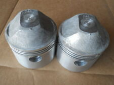 2 NOS Superior Pistons Harley Davidson Sportster 1971 and Earllier .060 Ironhead
