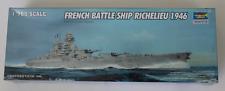 Trumpeter French Battleship Richelieu, 1946 in 1/700 5751
