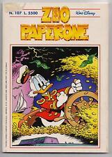 Carl Barks ZIO PAPERONE N. 107 Walt Disney Company Italia 1998