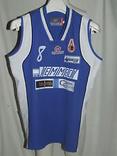 Shirt Maillot Tank Top Basketball Sport Blue Orvieto Women n ° 8