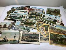 130 Vintage Cuban, Ny, Dc, Other Post Cards, Ben Franklin Stamps (1900's-1960's)