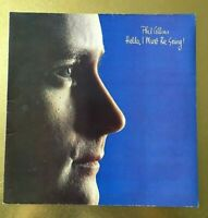 PHIL COLLINS Hello i must be going 1982 Virgin OVED 212 LP gatefold Made in UK