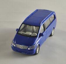 HERPA Mercedes Benz Viano blu modello bus Plastico ferroviario scala H0 1:87