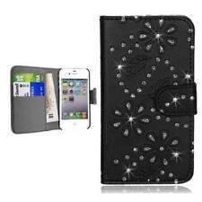 Samsung Galaxy S3 i9300 NEO i9301 custodia protettiva wallet case cover strass