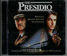 THE PRESIDIO Bruce Broughton PROMO CD Score Soundtrack INTRADA Sean Connery MINT