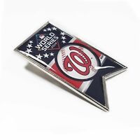 Washington Nationals 2019 MLB World Series National League Team Banner Pin