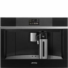 SMEG CMS4104N luxury built-in coffee machine Silver, free ship Worldwide