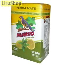 Y24 YERBA MATE PAJARITO MENTA-LIMON MINT-LEMON 500G TEA