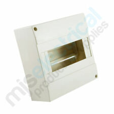 8 Pole Cover / Enclosure for Meter Box MCB RCD Switchboard Circuit Breakers NEW