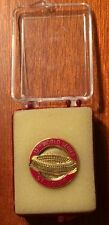 1982 St. Louis Cardinals World Series Press Pin Ozzie Smith Jack Buck Herzog