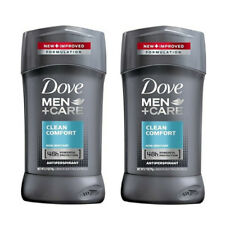 2 Pack Dove Men+Care Clean Comfort Antiperspirant 2.7 Oz Each
