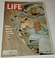 April 18, 1969 LIFE Magazine: Mae West, 1960s Advertising ads add FREE SHIP 4
