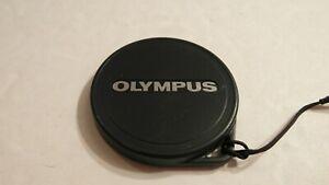 RARE RETRO GENUINE ORIGINAL OEM OLYMPUS 37MM 37 MM PUSH SLIP ON LENS CAP COVER