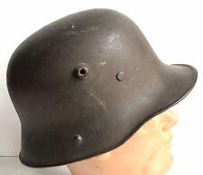 WW1 GERMAN M17 HELMET - NAMED - ATTRIBUTED