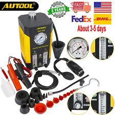 SDT206 Car Smoke Machine EVAP Leak Detector Fuel Pipe Diagnostic Automotive USA