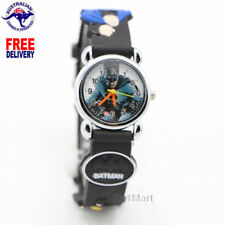 BATMAN Silicone Boys Watch Children Kids Students Cartoon Watches