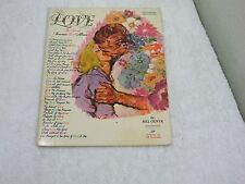 Love The Great Souvenir Love Album ~ Piano/Vocal/Guitar/Organ/ Music