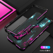 For ZTE Nubia Red Magic 5G / 5S / 6  Pro Metal Aluminum Bumper Frame Back Cover