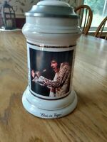 "Elvis Presley Commemorative Vintage Stein ""Elvis In Vegas"""