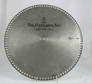 """MIRA 15 1/2""""  MUSIC BOX DISC, The Freelance March by Sousa"""