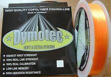 (0,016 €/m) MONOFILE ANGELSCHNUR 0,25/5,7Kg/300Mtr/fluo-orange - Spinnfischen
