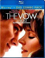 Used DVD+ BluRay Combo - THE VOW -  Rachel McAdams, Channing Tatum, Sam Neill,