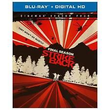 Strike Back: The Complete Fourth Season (Blu-ray Disc, 2016, 3-Disc Set)