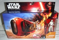 New Star Wars The Force Awakens Rey's Speeder Bike with Rey Jakku Action Figure
