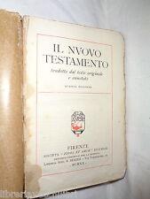 IL NUOVO TESTAMENTO Tradotto dal testo originale e annotato Fides et Amor