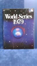 1979 World Series Program Pittsburgh Pirates vs Baltimore Orioles