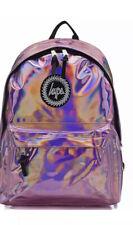Hype Backpack Rucksack School Bag Boy Girl Gift Free Post New Laser Pink