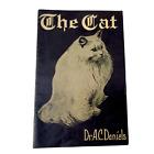 Antique 1900 Veterinary BOOK CAT Medicine Dr A C Daniels Vintage Cat