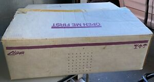 In Original Boxes Apple Lisa Keyboard Key Tronic Menu & A6MB101 & Mouse A9M0050