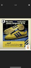 Adidas Originals SL76 Size? Exclusive Yellow Blue Size UK 9
