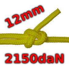 12mm Seil 2150kg gelb schwimmfähig salzwassbeständig