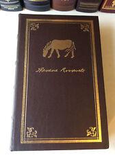 A Sentimental Safari by Kermit Roosevelt - leather